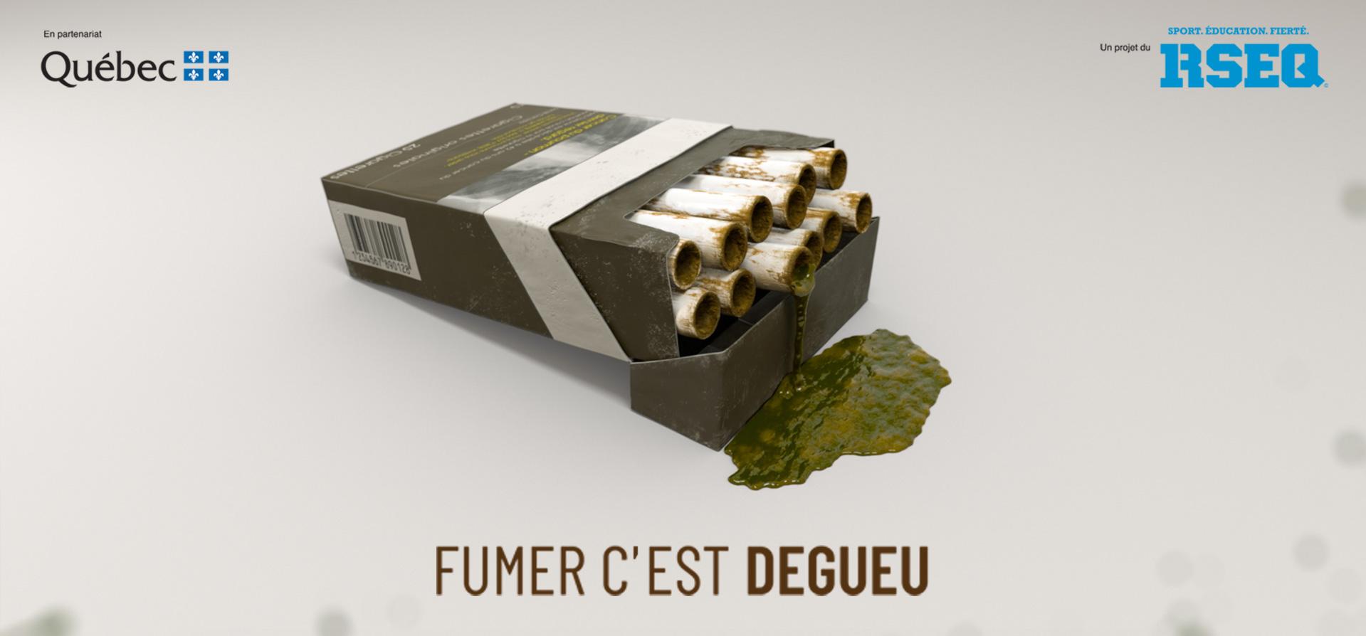 Logo Fumer c'est dégueu
